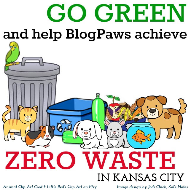 Be a Zero Waste Pet Parent at BlogPaws (Or Anywhere)