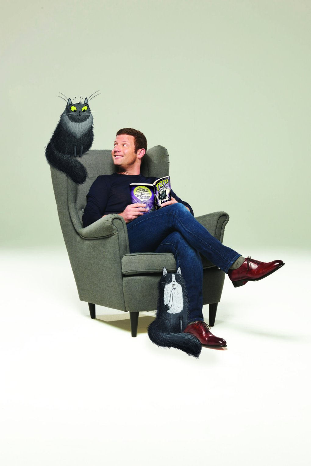 Dermot O'Leary Joins Cats Protection for Exclusive Video Event