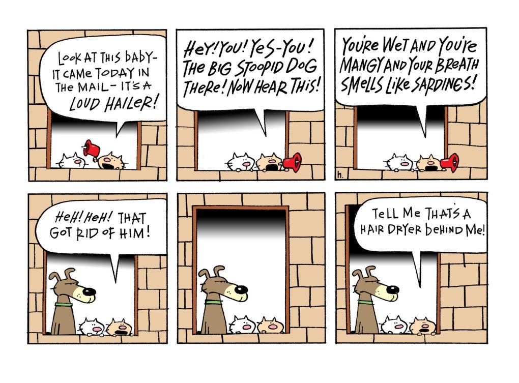 The Ten Cats Cartoons by Graham Harrop