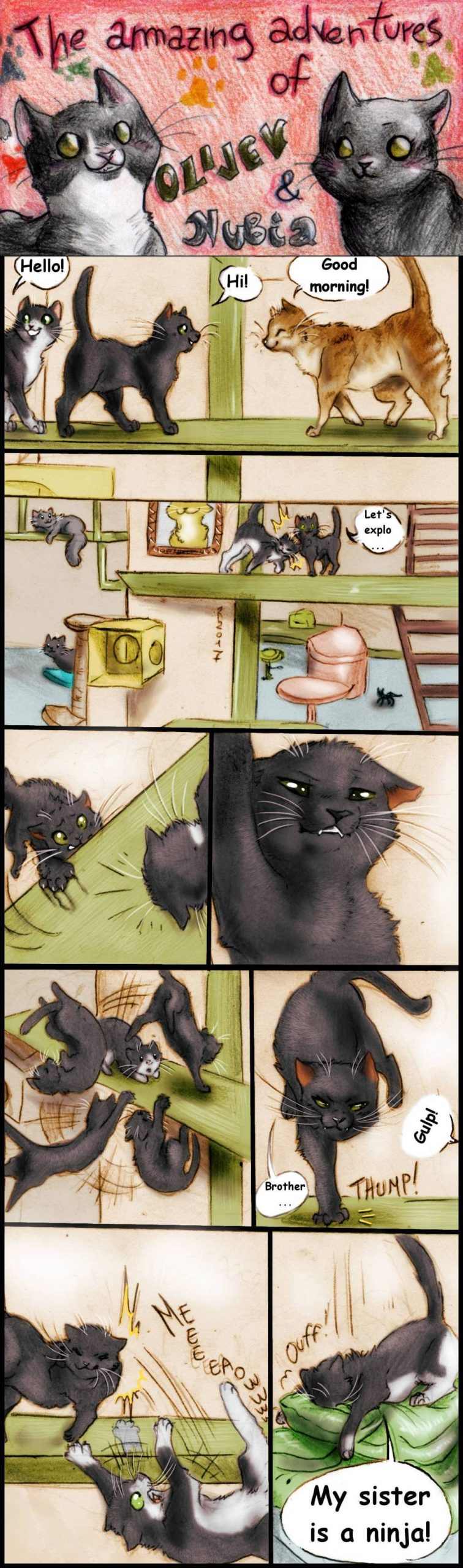 Blast From the Past: Visit to the Cat Cafe
