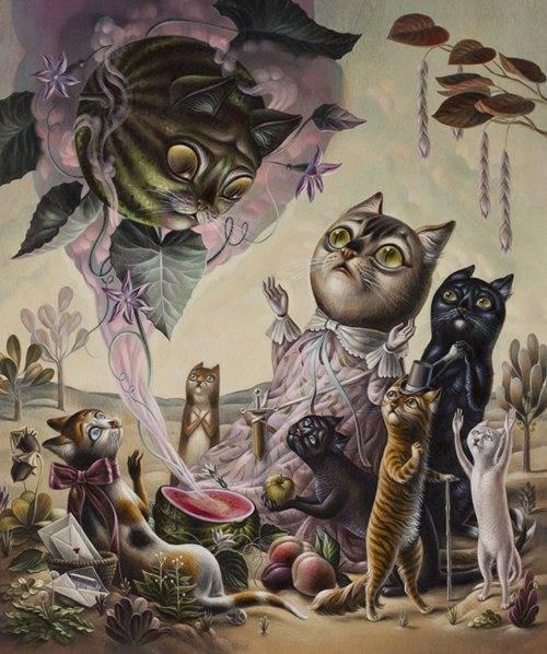 Friday Art Cat: Art by Femke Hiemstra
