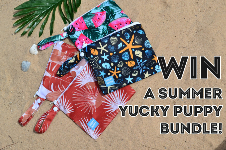 Win a Summer YUCKY PUPPY Bundle!