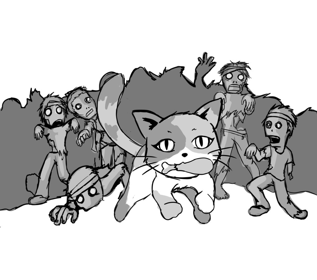 Cat Book Mews: Zombies Don't Eat Catnip