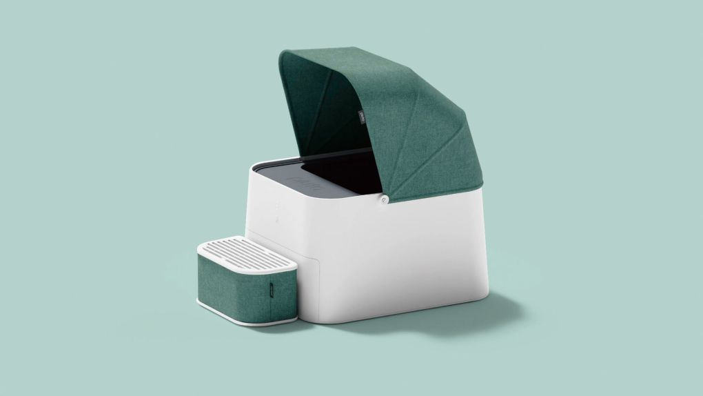 There is Still Time to Get Your Paws on the Early Bird Offer for This Automatic Cat Toilet!