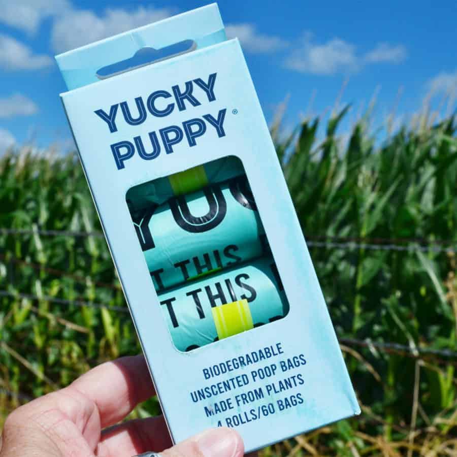 Win Our New Biodegradable Poop Bags + Watermelon Poop Bag Carriers!