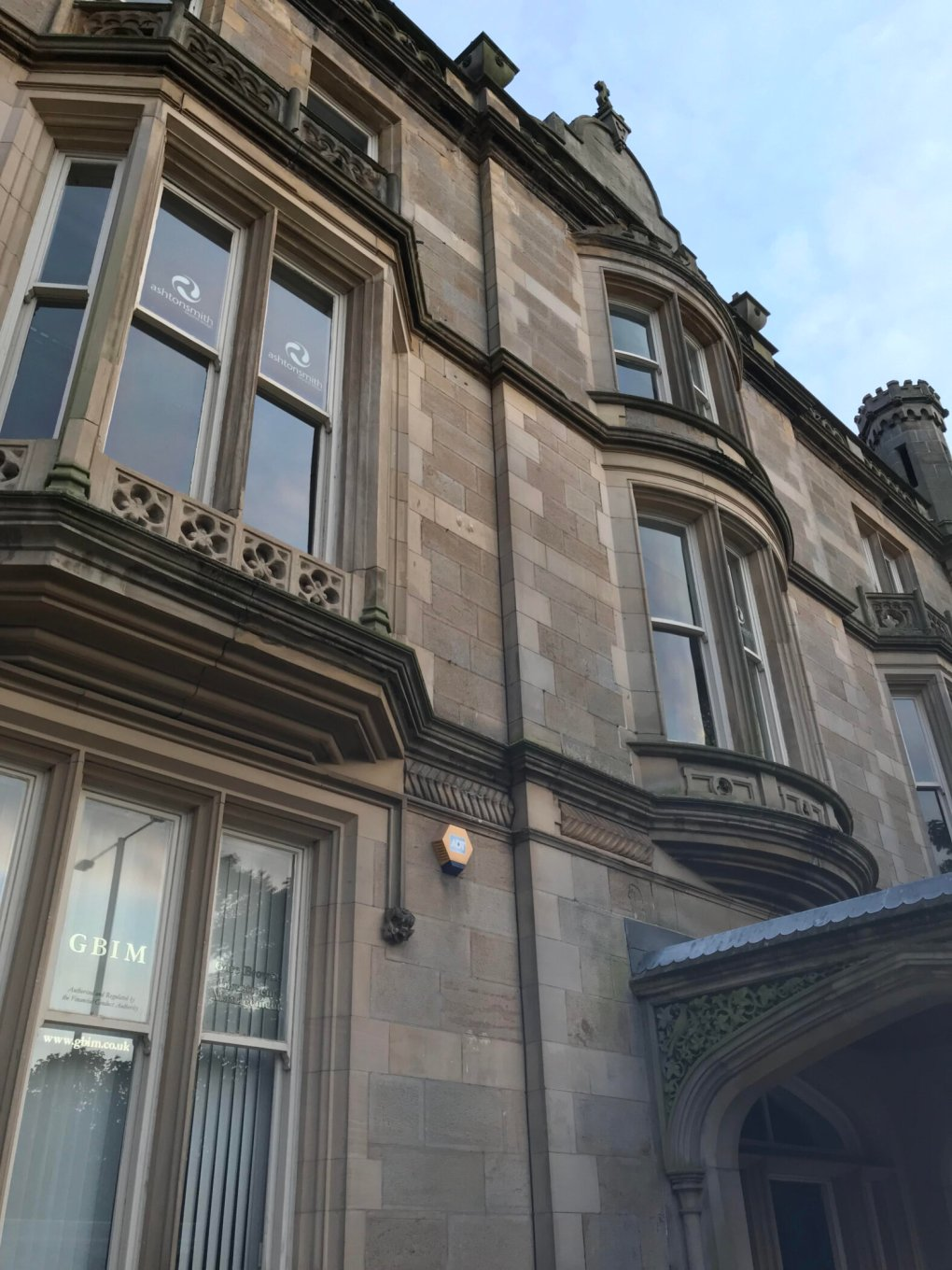 RSPCA and Fire Services Rescue Cat From Roof of Building in Harrogate