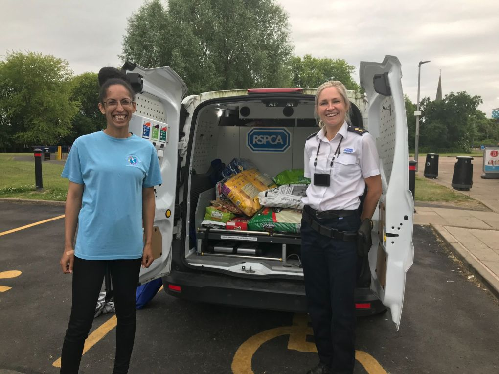RSPCA Foodbank Project Helps Pet Owners in Greater Manchester