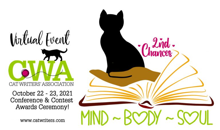 Cat Writers Association Announces 2021 Virtual Conference October 22-23 Second Chances: Mind, Body Soul